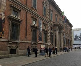 Milan's Accademia di Belle Arti di Brera is at the heart of the city's artists' quarter