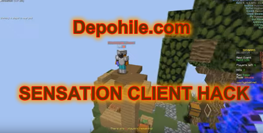 Minecraft Sensation Client Yeni Hypixel Skywars Hilesi Free 2019