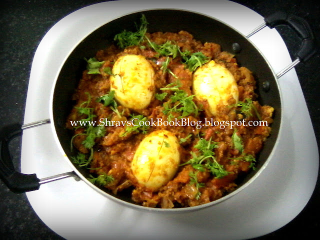 How to make Chettinad Egg Masala Gravy Recipe