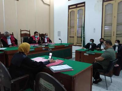 Pelaku Pembunuhan Berencana Sementara Ditangguhkan Majelis Hakim PN Medan