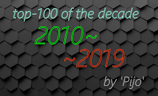 Top-100 Albums of the Decade (by Pijo) 2010-2019