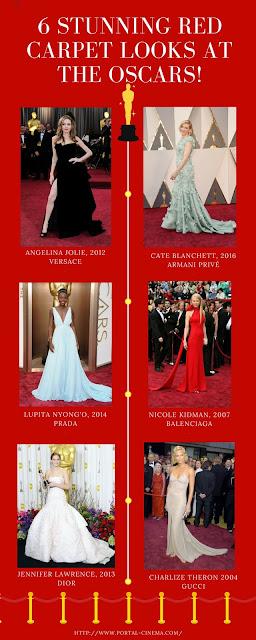 6 Looks Inesquecíveis dos Últimos Anos da Red Carpet dos Óscares