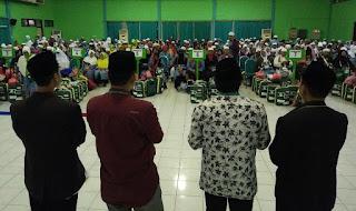 Wabup Muqit Sambut Kedatangan Jamaah Haji di Asrama Haji Sukolilo