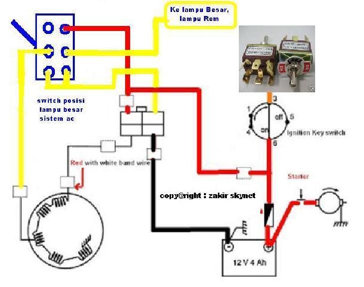SOLUSI BATTERY: Modifikasi Lampu Motor Sistem AC ke Full DC
