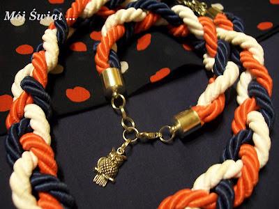 Marynarska bransoletka ze sznurka