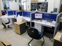 jual Meja Kubikel Meja kubikal Meja Sekat Kantor Bahan Kain Fabric - Furniture Semarang
