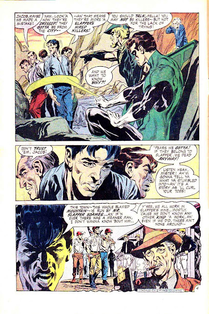 Green Lantern Green Arrow #77 dc comic book page art by Neal Adams