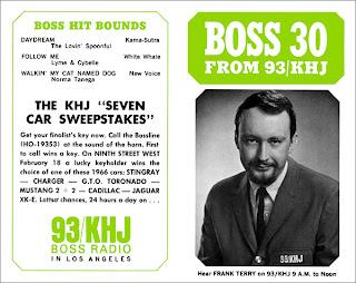 KHJ Boss 30 No. 32 - Frank Terry