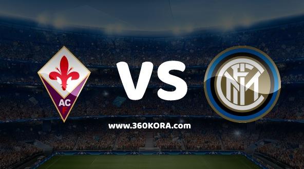 مشاهدة مباراة فيورنتينا وانتر ميلان بث مباشر اليوم في الدوري الايطالي