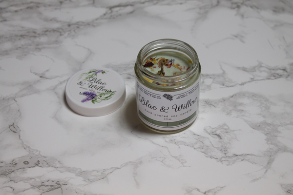 Yogi Surprise Box, Yogi Surprise, Yogi Surprise Box Review, Lilac & Willow Soy Candle