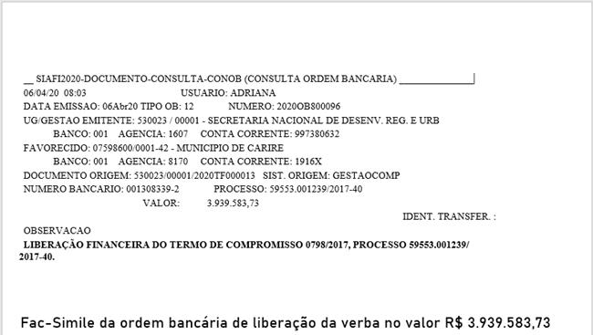 Governo Federal libera a última parcela da verba para retomada das obras da ponte do Tapuio, anuncia o deputado Aníbal Gomes