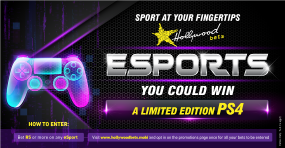 Win a PS4 - eSports Promotion