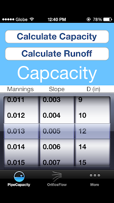 Storm Water Flow Calculator a.k.a. Stormwater Flow Calcs