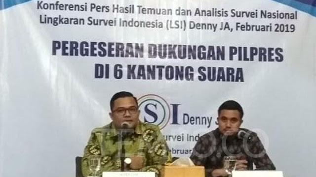 LSI: Kasus Ahmad Dhani Pengaruhi Suara Jokowi di Kaum Terpelajar