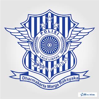 Korps Polisi Lalu Lintas Logo Vector cdr
