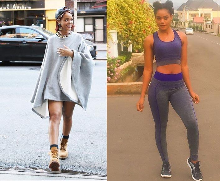 This Nigerian model looks just like Rihanna