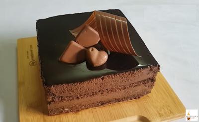 تورتة موس الشوكولاتة
