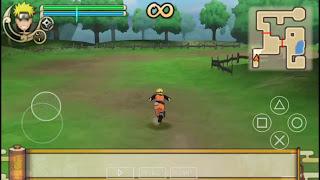 Tải game Naruto iso PSP