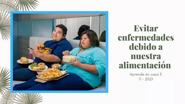 Evitar enfermedades en relación a nuestra alimentación