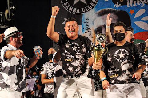Parceria de Diego Nicolau vence disputa e Botafogo Samba Clube conhece o seu samba