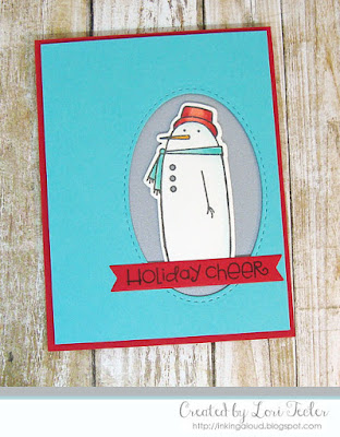 Holiday Cheer card-designed by Lori Tecler/Inking Aloud-stamps from Paper Smooches