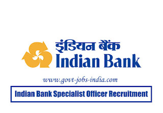 Indian Bank Specialist Officer Admit Card 2020