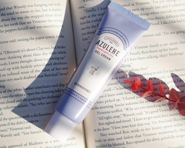 dermatory azulene cica gel cream