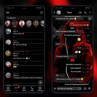 Anonymous Dark Theme For YOWhatsApp & GB WhatsApp By Ethel