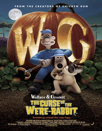 Wallace & Gromit The Curse of the Were-Rabbit 2005 [Dual-Audio] [Hindi-English] 480p BluRay x264 300MB ESub Downlaod
