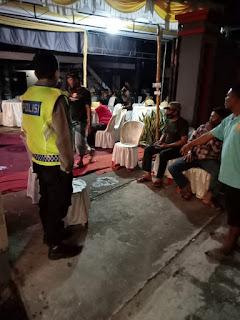 Wakapolsek Labakkang Polres Pangkep Pimpin Langsung Oprasi Yustisi di Wilayah Hukum Polsek Labakkang