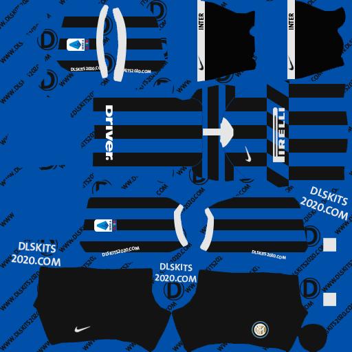 inter milan Kits 2019-2020 Home For Dream League Soccer Kits 2020