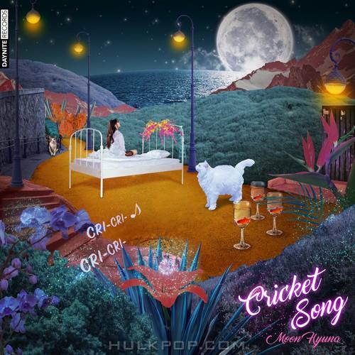 MOON HYUNA – Cricket Song – Single