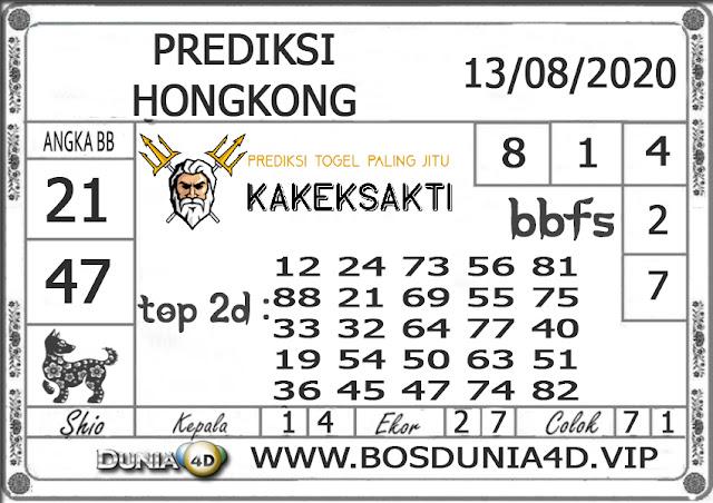 Prediksi Togel HONGKONG DUNIA4D 13 AGUSTUS 2020
