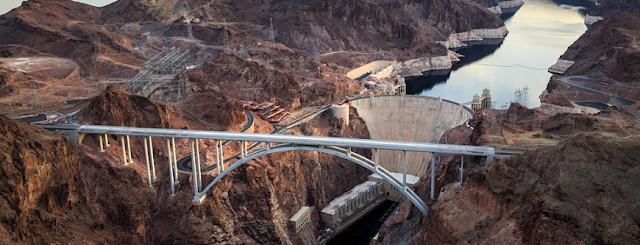 Visita à represa Hoover Dam em Las Vegas