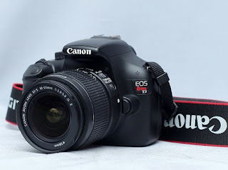 Jual Kamera DSLR 2nd - Canon Eos Rebel T3