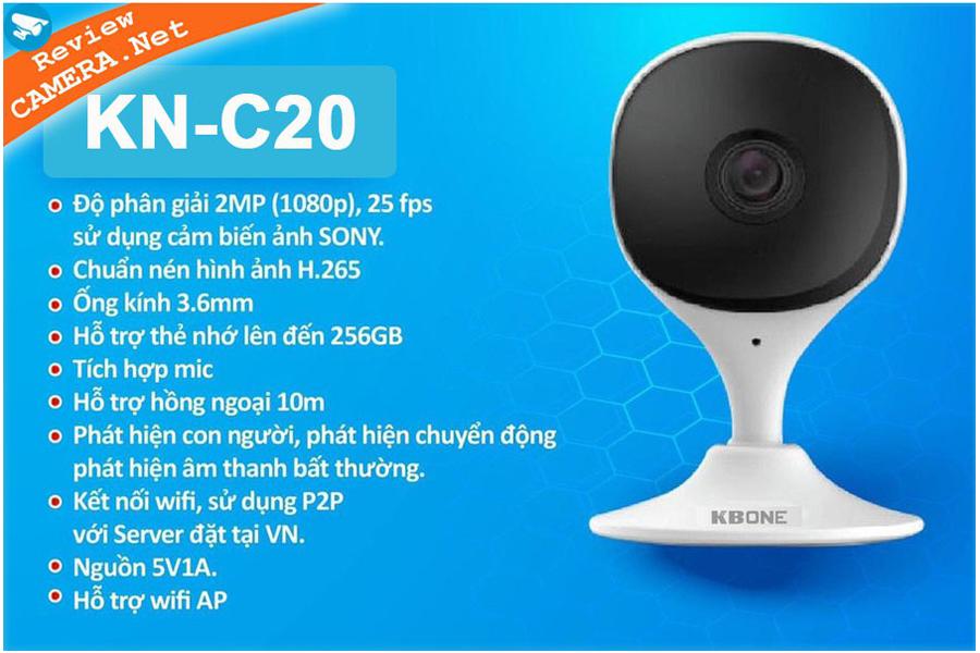 camera wifi giá rẻ kbone kn-c20