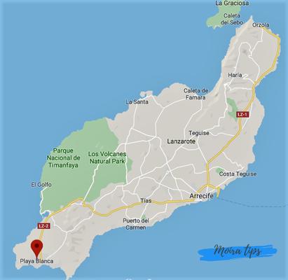 zona migliore dove alloggiare a Lanzarote