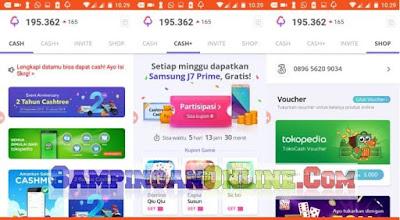 Cashtree 2018, Aplikasi Voucher Belanja Gratis, Bukan Lagi Pulsa Gratis
