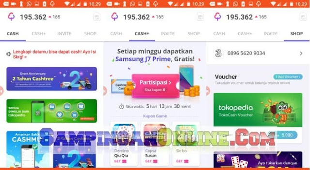 cashtree-2018-aplikasi-voucher-gratis-tercepat
