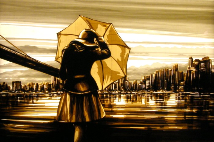 Картины из лент. Max Zorn