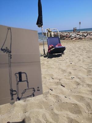 Eraclea Mare (VE), spiaggia libera, giugno 2021