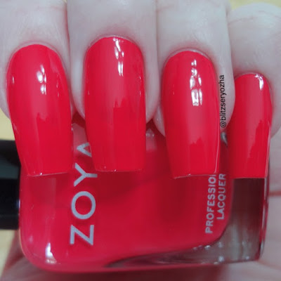 Zoya Dixie One Coat Swatch