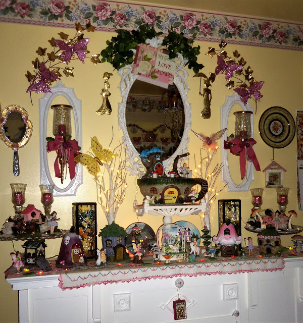 Fairy Garden Mantle