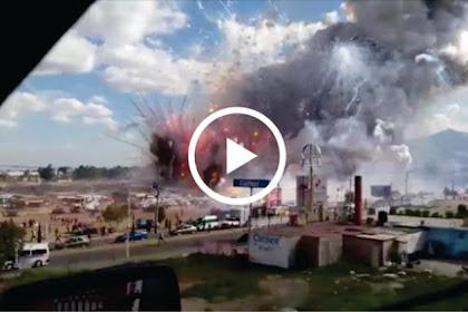 VIDEO Paling Mengerikan Ledakan Pasar Kembang Api, Tewaskan 30 Orang