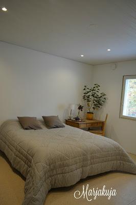 Makuuhuoneen remontointi