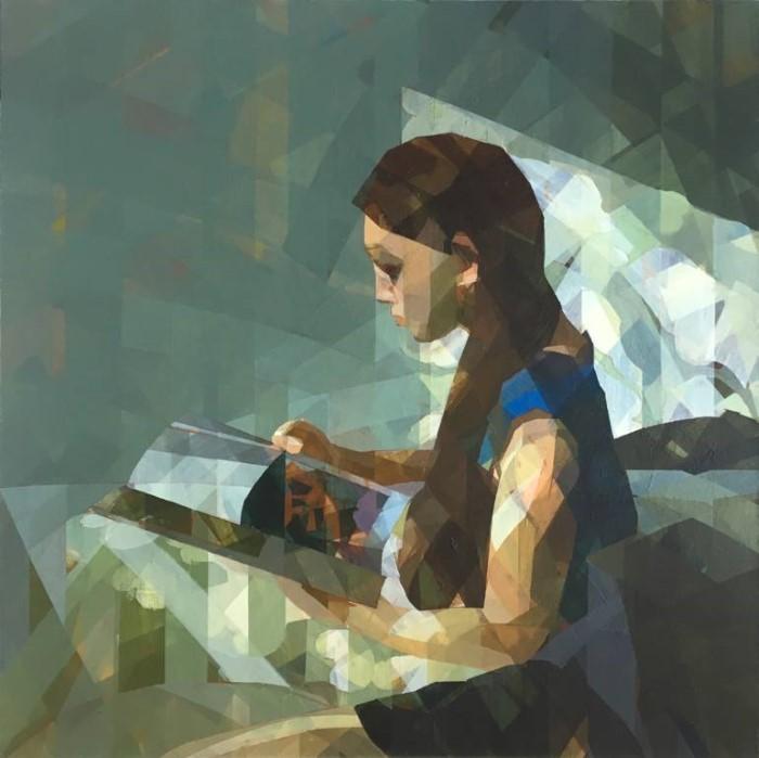 Японский художник. Ryoko Tajiri