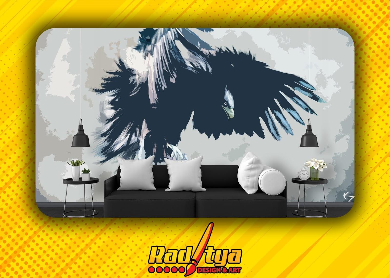 Wallpaper Dinding Custom