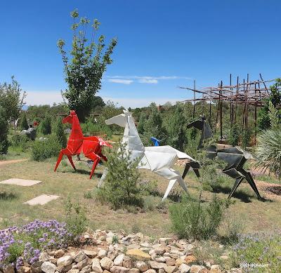 Horses --Kevin Box, Santa Fe Botanic Garden