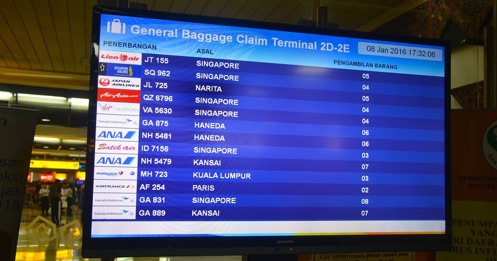 Jadwal Penerbangan Bandara Supadio - Pusat Pesawat Terbang