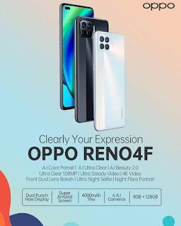 Spesifikasi Lengkap Oppo Reno 4F